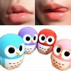Fruit Candy Color Owl Moisturizing Sphere Lip Gloss Balm Natural Plant Lipstick
