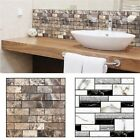 Available Office 3D Brick Waterproof Wall Sticker Self Adhesive Panel Décor Removable