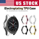 Electroplated TPU Watch Case Frame Cover for Samsung Gear S3 / Galaxy Watch 46mm image