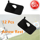 Archery 12 Pcs Arrow Rest Right / Left Hand for Recurve Bow Shooting Hunting