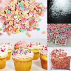 20/50g DIY Polymer Clay Colorful Fake Candy Sweets Sugar Sprinkles Decoration image