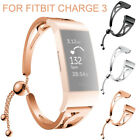 New Replacement For Fitbit charge 3 Wristband Watch Bracelet Metal Wrist Band image