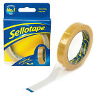 Parcel Packaging Tape SELLOTAPE Packing Roll 24mm x 50m Clear Adhesive Cellotape