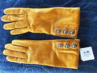 NEW $168 COACH 82825 Women's Cashmere Lined Leather Gloves