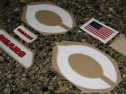 "CHICAGO BEARS Throwback ""White C"" Football Helmet Decal Set 3M 20MIL on eBay"