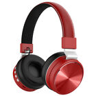 CASQUE HEADPHONES HIFI SANS-FIL PLIABLE BLUETOOTH 4.2 RADIO FM MP3 AVEC MICRO