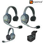 NEW 2020 HD ver. Eartec Wireless Headsets UltraLITE UL series Master Remote Sets