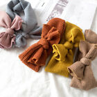 Внешний вид - Baby Knitting Headband Turban Warm Flower Bows Newborn Baby Girl Headbands Hot A