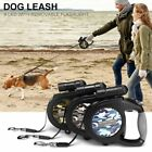 8M Automatic Retractable Eextendable Dog Leash Pet Collar W/ 9 LED/FLASH Light
