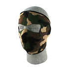 NEOPRENE FACE MASK, WOODLAND CAMOUFLAGE
