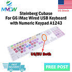 Hotkey Shortcuts Silicone Keyboard Cover for iMac Wired G6 Numeric Keypad A1243