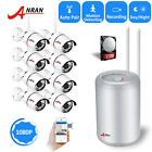 ANRAN Home Security Camera System Wireless Outdoor HD 1080p with 2TB Hard Drive
