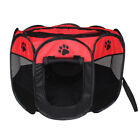 Folding Portable Pet Fence Play Pen Puppy Dog Cat Tent Travel Exercise