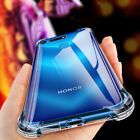 For Huawei Honor View 20 Pro 8X 10 9 Lite Transparent TPU Shockproof Cover Case