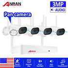 1080P ANRAN Wireless Security Camera System Home HD 8CH 4Pcs NVR CCTV Waterproof