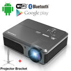 CAIWEI 5000lms LED LCD Home Theater Projector Movie Multimedia HD USB HDMI+Stand