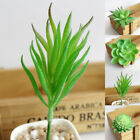 Artificial Plants Green Fake Leaves Foliage Bush Indoor Home Office Garden Decor