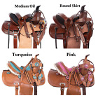 Kids Saddle Used 12 13 14 in Western Barrel Racing Trail Show Horse Tack