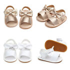 Kyпить Summer Baby Girl Bowknot Sandals Anti-Slip Crib Shoes Soft Sole Prewalkers USA на еВаy.соm
