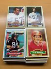 1980 TOPPS FOOTBALL #1 thru #528 - PICK ANY CARD(S) YOU NEED -- NM/NM+ or better $2.5 USD on eBay