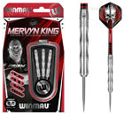 WINMAU Steeldarts Mervyn King Natural 90% Tungsten Steel Dartpfeile Profi Level