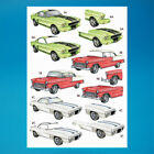 Classic Cars Reflections Decoupage A4 Die Cut 3DSheet (051-792)