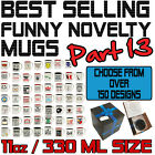 Funny Novelty Mug Cup Coffee Tea RED - SUPER BC5
