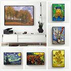 van gogh Minimalism Printed Canvas Wall Art Painting Poster Home Decor Unframed