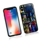 GLASS STYLE PHONE FONE COVER FULL SAFE TPU BACK CASE FOR APPLE IPHONE SE & MORE