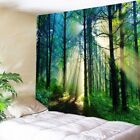 Kyпить USA Sunlight Forest Print Tapestry Wall Hanging Tapestries Room Bedspread Decor на еВаy.соm