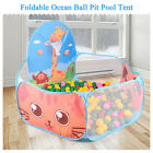 Baby Playpen Portable Play Yard Kids Indoor Ball Pool Play Tent Safe Foldable