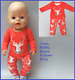 Baby Born Doll Clothes To Fit 17\