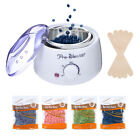 Hair Removal Electric Wax Warmer Machine Heater 4 Pack Beans Sticks Waxing Kit