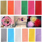 10sheet bag 50x66cm tissue paper flower wrapping paper gift packaging paper roll