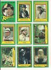 Raiders of the Lost Ark 1981 / Singles U Pick / Choose Your Card (Choice) Topps