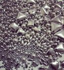 Luxe Silver Metallic Edible Cake Cupcake Sprinkles Cake Toppers