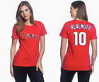 J.T. Realmuto Philadelphia Phillies #10 MLB Jersey Style Women's Graphic T Shirt on Ebay