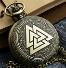 MASONIC POCKET WATCH CHAIN STEAMPUNK FREEMASONS ILLUMINATI WATCHES UNISEX NEW