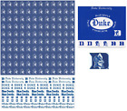 Внешний вид - Duke University Scrapbook Kit Paper Stickers Sports Solution PICK FROM 5 ITEMS