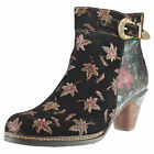 Laura Vita Alizee 17 Womens Multicolour Suede & Synthetic Ankle Boots