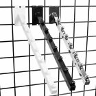 "Gridwall 7 Ball Waterfall Faceout 18"" L Square Tube Chrome Black White Wholesale $39.95 USD on eBay"