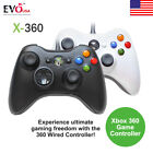 Wired Microsoft Xbox 360 Gaming Game Controller Green Box High Quality