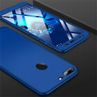360 Full Cover Case + Tempered Glass For Huawei Honor 8X 7X 7S 7A 9 10 Lite Play