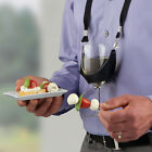 Внешний вид - Wine Yoke Glass Holder, Wine Party Time Hand Free Wine Glass Holder Necklace