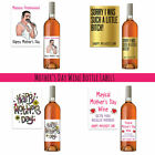 Funny Cheap Mother's Day Gift Present Wine Bottle Label Cool Best Idea For Mum