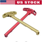 Kyпить US Charging Handle RED Ambidextrous AMBI Handle Accessory for Mil-Spec AR 223 на еВаy.соm