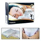 BAMBOO MATTRESS PROTECTOR Twin Full Queen King Size Waterproof Soft Fabric Cover image