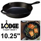 CAST IRON SKILLET Lodge Pre Seasoned Stove Top Oven Fry Pan 65 8 9 1025