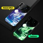 Luminous Glass Phone Case Glow in Dark iPhone XS MAX XR XS X 8 Venom Star Wars