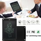 "LCD Writing Tablet 8.5"" Digital Handwriting Drawing Board for Kids Office Lot IA"